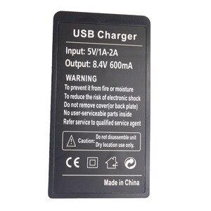Image 2 - USB ميناء كاميرا رقمية شاحن بطارية لكانون P 511 LP E5 LP E6 LP E8 LP E10 LP E12 LP E17