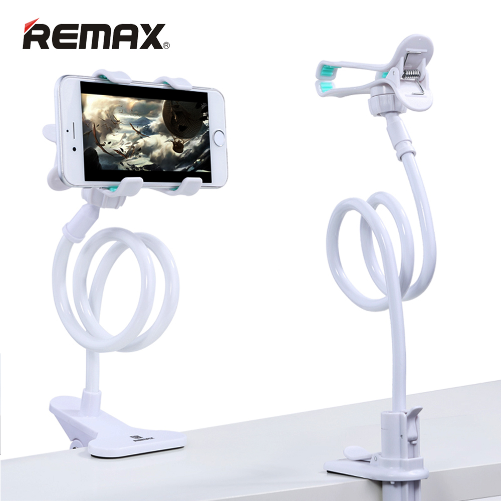 Remax 360 Rotation Flexible Long Arm Mobile Phone Stand Lazy People Bed Desktop Table Mount Holder for iphone for samsung huawei|mount holder|holder for|360 rotating flexible - title=