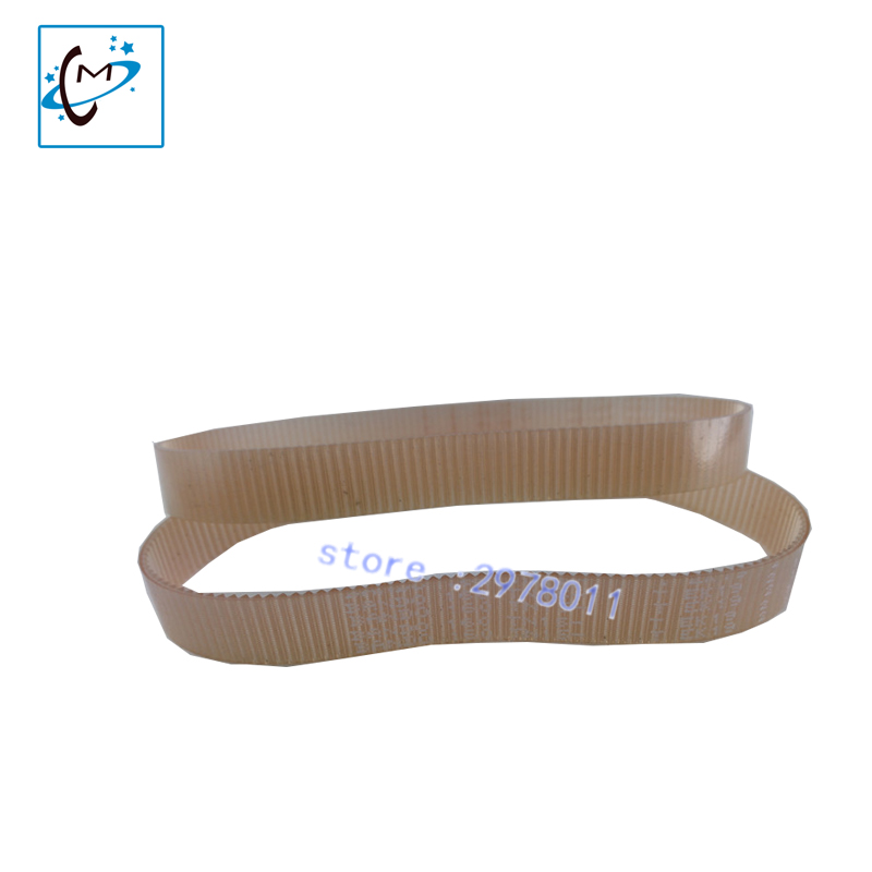 Original CR carriage motor belt Mutoh RJ8000 8100 VJ1604 VJ1604W  piezo photo printer Flex O ring timing belt spare part mutoh cr motor for rj 900c rj 1300 vj 1204 vj 1304