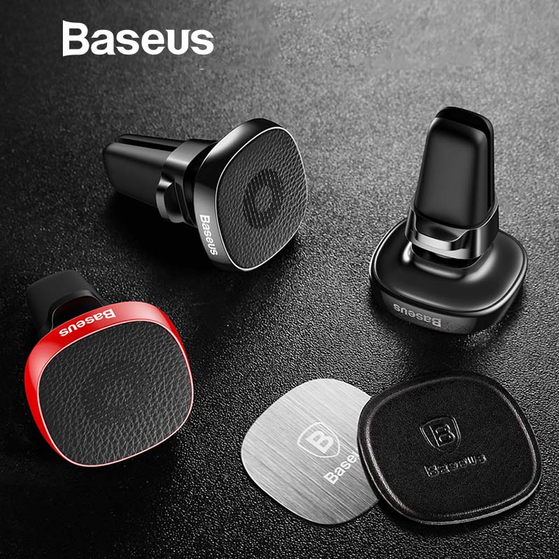 Baseus Metal Car Phone Holder For iPhone XR 8 Sumsung S10 Xiaomi Mobile Phone Holder Stand Air Vent Mount Magnetic Phone HolderBaseus Metal Car Phone Holder For iPhone XR 8 Sumsung S10 Xiaomi Mobile Phone Holder Stand Air Vent Mount Magnetic Phone Holder