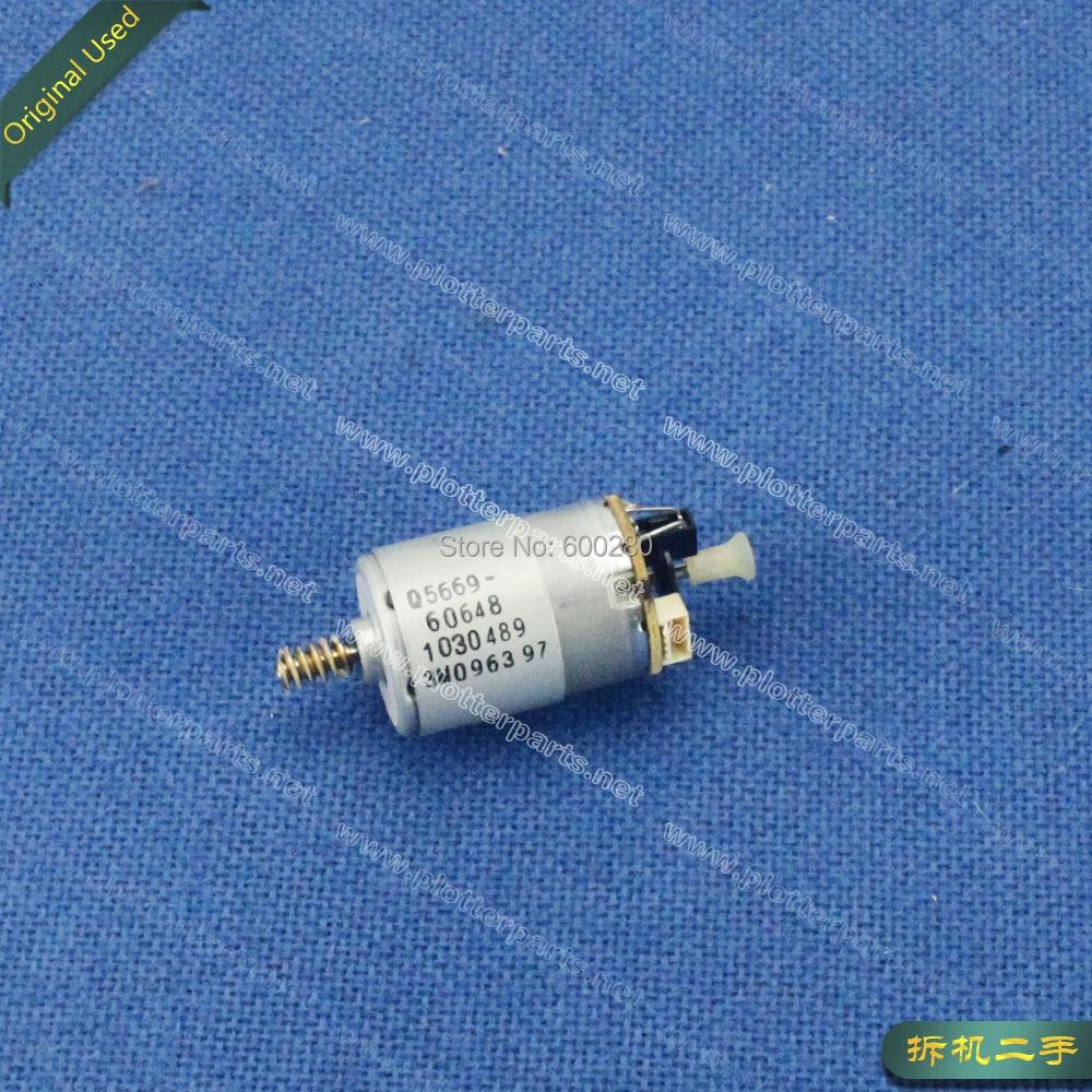 Q5669-60648 Service Station Motor for HP DesignJet T1100 T770 T790 Z2100 Z3100 Z3200 Z5200 used