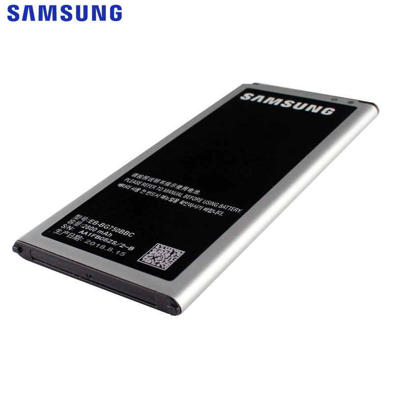 Original EB EB BG750BBC Battery For Samsung GALAXY Mega 2 G7508Q G750F Galaxy Round G910S Replacement Phone Battery 2800mAh in Mobile Phone Batteries from Cellphones Telecommunications
