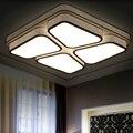 Лаконичные потолочные светильники для гостиной акриловая спальня фойе светильники lampe plafonnier led современная лампа flushmount освещение