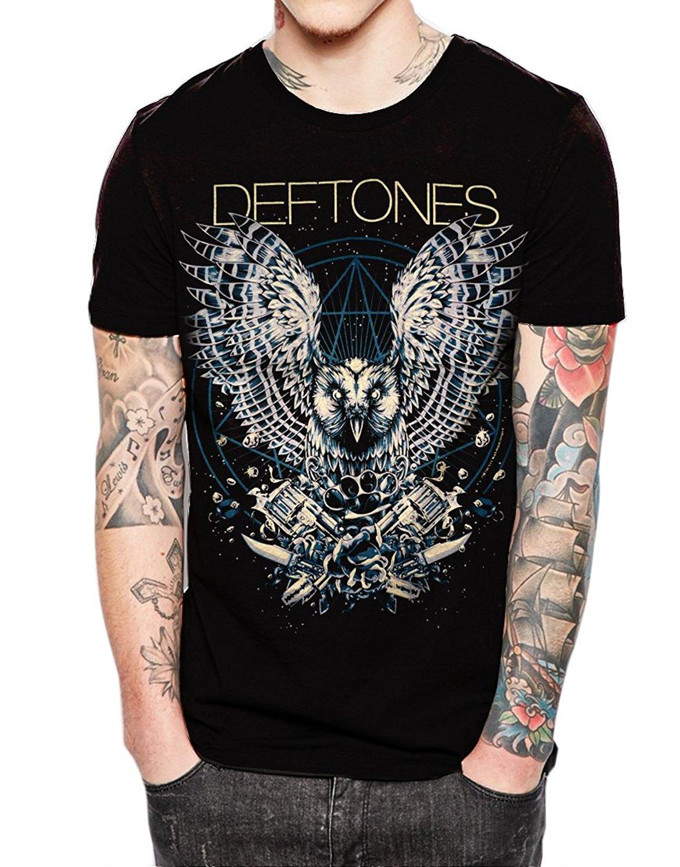 T shirt deftones white pony - Fashion Men Summer T Shirt Printed T Shirt Deftones American Alternative Metal Band T Shirt