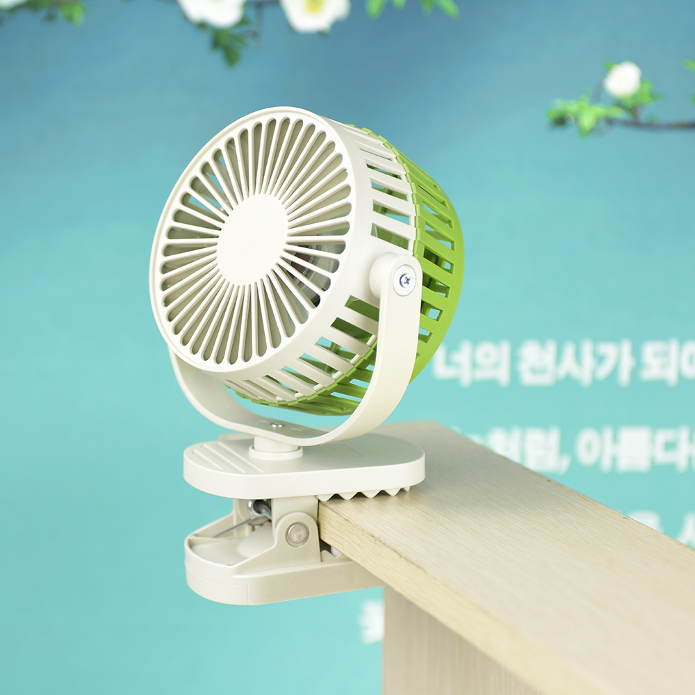 USB Mini Portable Rechargeable Fan Clip Fan With Lithium Battery 3 Grear 360 Degree New Design USB Cooling Fan blue green pink fan mini fan clip style portable fan 3 grear 360 degree rotate new design usb cooling