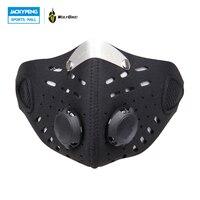 WOLFBIKE Anti-vervuiling Stad Fietsen Masker Mond-Moffel Stofmasker Fiets Sport Bescherm Road fietsen masker gezicht cover bescherming
