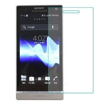 0.3mm 9 H szkło hartowane dla Sony Xperia S SL Lt26 Lt26i ochronna na ekran folia ochronna przednia pokrywa + zestawy do czyszczenia