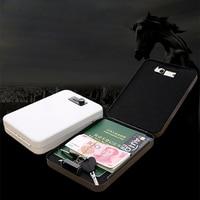 Password Safe Portable Cold Rolled Steel Car Auto Safe Pistol Valuables Wallet Jewelry Storage Box Safe Deposit Box Safe DHZ011