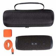 Fácil de Llevar de Viaje Caja de la Bolsa para JBL Cargar 3 Charge3 Bluetooth altavoz Bolsa de Espacio Extra Para Plug & Cable Monedero bolsa de Auriculares
