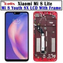 Xiaomi Mi 8 Lite LCD 터치 스크린 어셈블리 Xiaomi Mi8 Lite 디스플레이 8 Youth 8X Mi 8 Lite LCD 스크린 교체 용 LCD