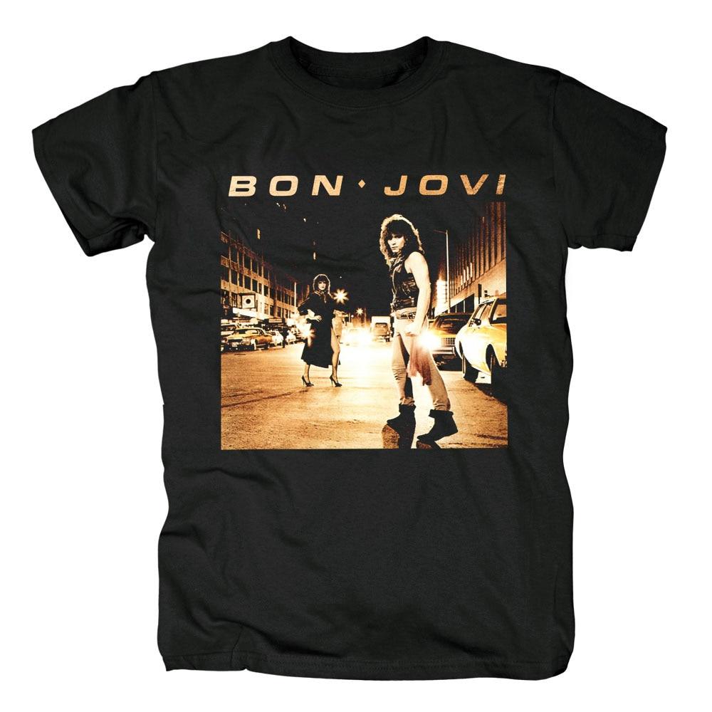 623530b9f1f Free shipping Jon Bon Jovi Richie Sambora Rock Band T Shirt new SIZE S  XXXL-in T-Shirts from Men s Clothing on Aliexpress.com