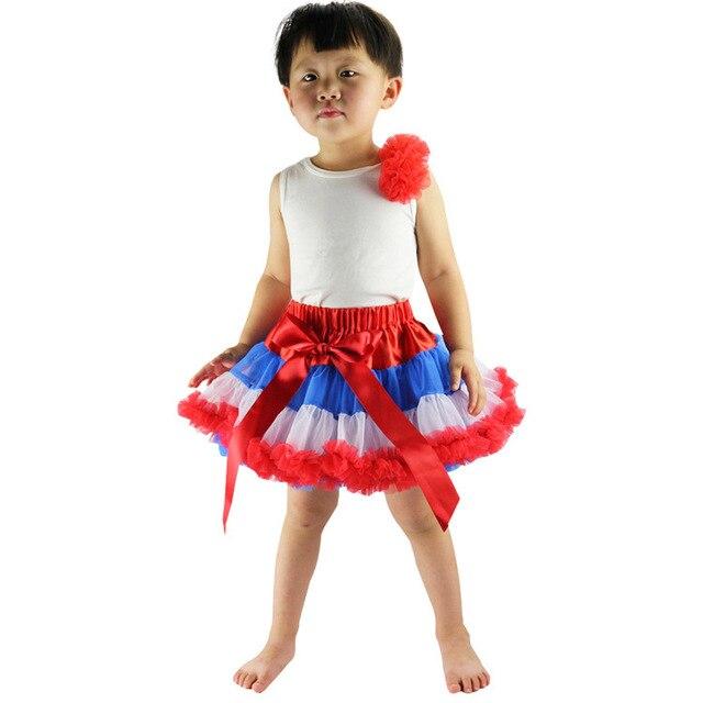 New Lovely Princess striped Skirts Dancing Skirts Children Joker Girls tutu Skirt Veil Cake Skirt ball gown girls tutu