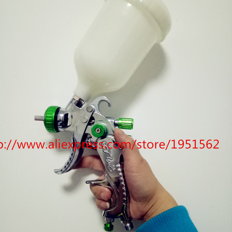ФОТО  601 Perfect atomization  2009 HVLP 1.4mm nozzle cars furniture paint pot of spray gun