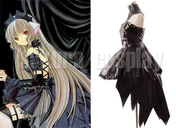 Chobits Freya Black Dress Halloween Cosplay Costume Costume Fantasy Costume Jupecostume Beard Aliexpress