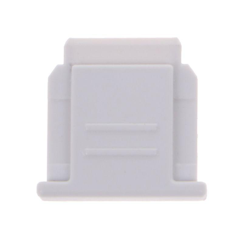 Горячий башмак Крышка Анти-пыль анти-удар Cam комплект для sony FA-SHC1M A6000 A7 A9 RX100 DSLR камеры#328 - Цвет: W