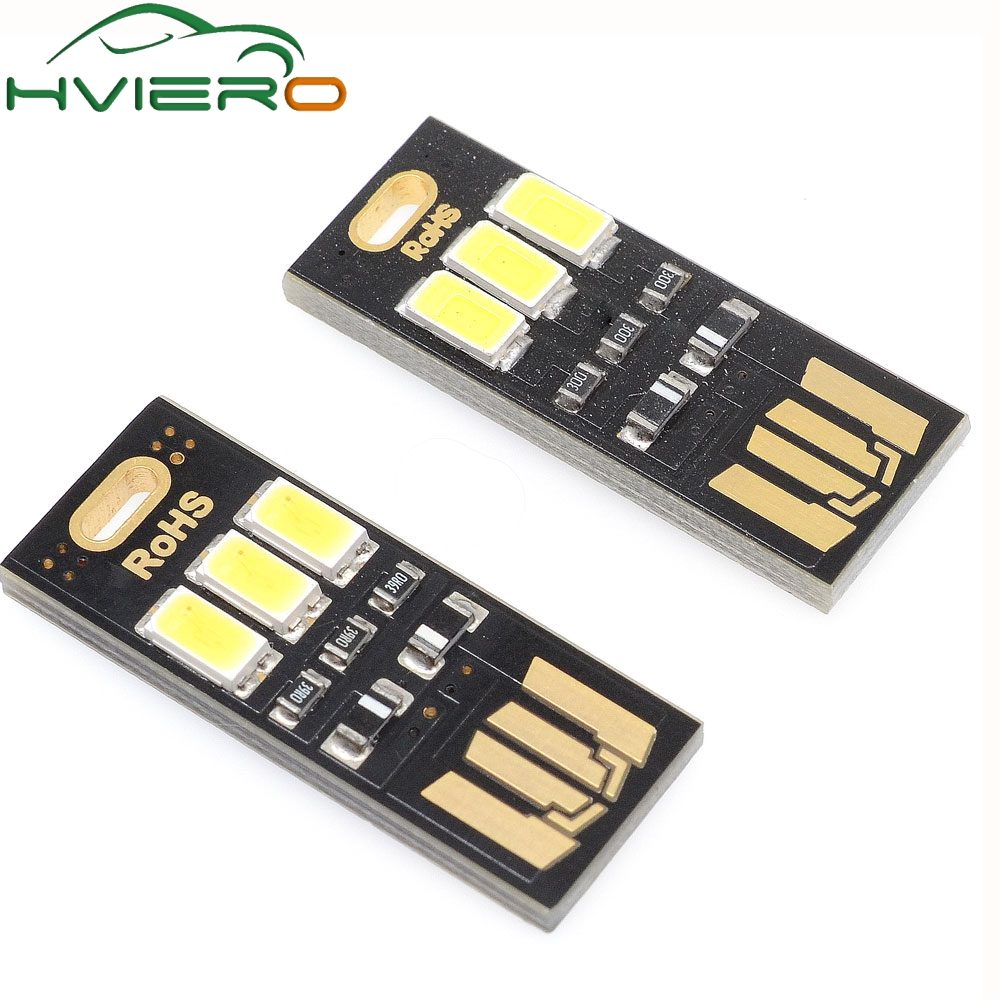 Active Components Hearty 10pcs Black Led Lamp Bulb Keychain Pocket Card Mini Led Night Light Portable Usb Power Integrated Circuits