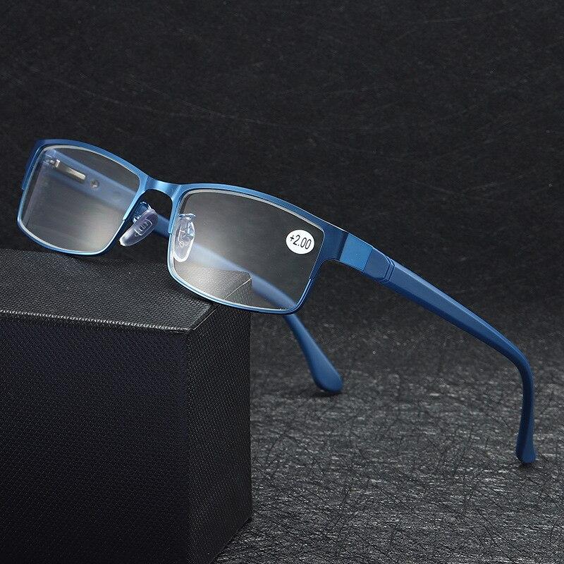 Mypia Glasses MenBusiness Reading Glasses Women Titanium alloy Eyegrasses Male Hyperopia Presbyopia Prescription Glasses Frame
