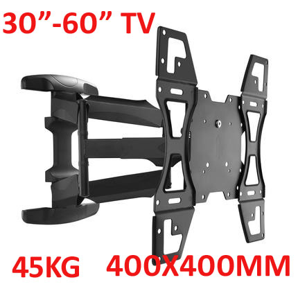 60inch 55inch 46inch retractable swivel LCD PLASMA full motion tv
