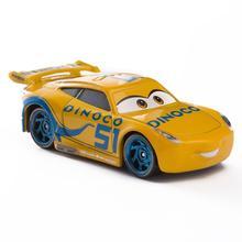 Disney Pixar Cars 3 Lightning McQueen Blue Jackson Storm Mater 1:55 Diecast Metal Alloy Model Car Toy Children Gift Boys disney pixar cars 3 lightning mc queen blue jackson storm mater 1 55 diecast metal alloy model car toy children gift boys