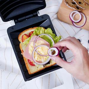 Image 4 - Original Youpin Pinlo 420W Mini Sandwich Machine Kitchen Breakfast Bread Maker Curved Surface Toaster Frying Egg Maker Home Use