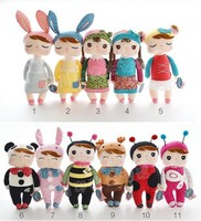 100pcs/lot Angela Plush Kids Toys 30cm Lovely Stuffed Cloth Doll Metoo Rabbit Doll Girl Christmas Girl Children Gift S15