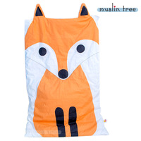 Fox Pattern 130X70cm Newborn Baby Blankets 100 Cotton White Bed Comforter Sofa Cartoon Summer Kids Playing