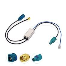 Dab Fakra до SMA разъем антенны антенный разветвитель автомобильной стереосистемы dab установлен