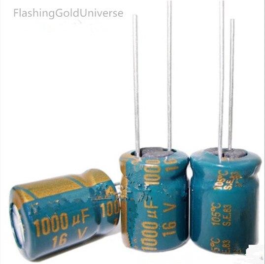 16 V 1000 UF 16 V1000 UF 1000 UF16 V 1000UF 16V 1000UF   10*13mm Best Quality