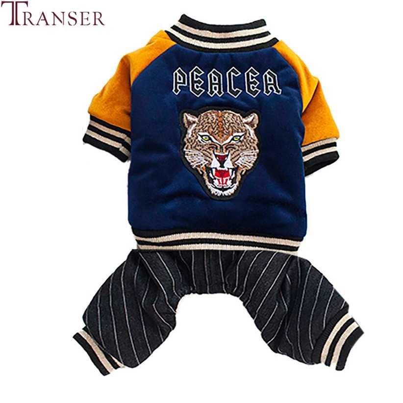Дропшиппинг леопардовая расцветка бархатный комбинезон для собак зимняя теплая куртка для собак четыре ноги костюмы для питомцев 80919