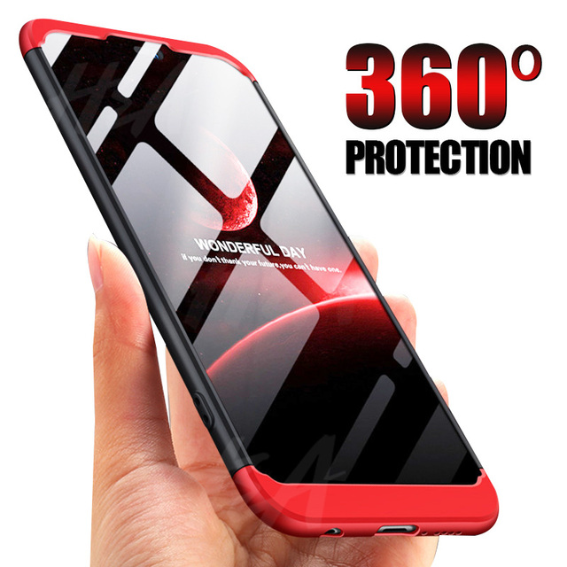 H&A Luxury 360 Full Coverage Matte Phone Case For For Huawei P20 Pro P20 Lite Hard PC Anti-knock Cover For Huawei P20 Case Cover