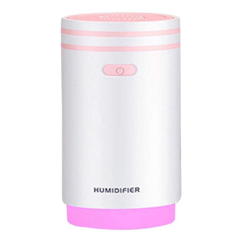 5 в 1 Мини увлажнитель воздуха тумана ночник ароматерапия вентилятор машины макияж зеркало спрей 5 функций-увлажнитель 280 мл - Цвет: P