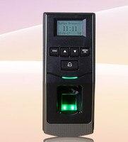 Элегантный дисплей F6 пальцев + ID карты отпечатков пальцев посещаемости времени записывающего устройства