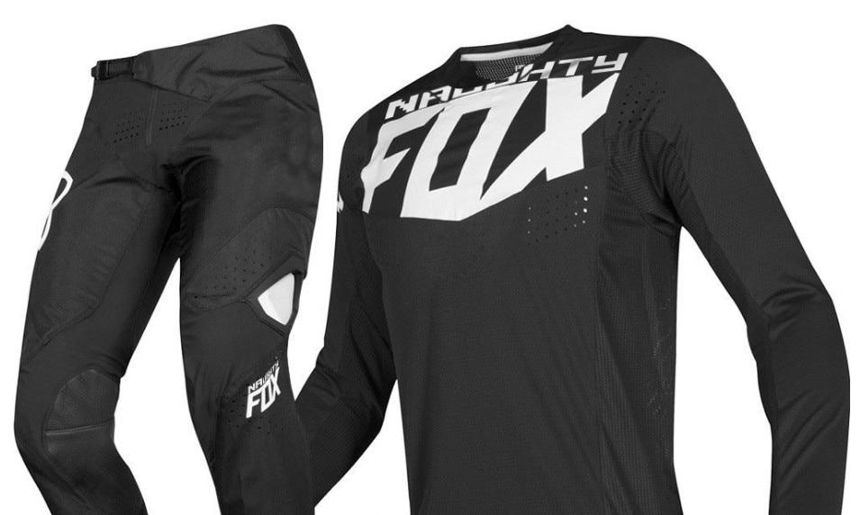 2019 Naughty Fox Mx 360 Kila Black Jersey Pants Motocross Motorcycle Dirt Bike Atv Mtb Dh Racing Men's Gear Set Keep You Fit All The Time