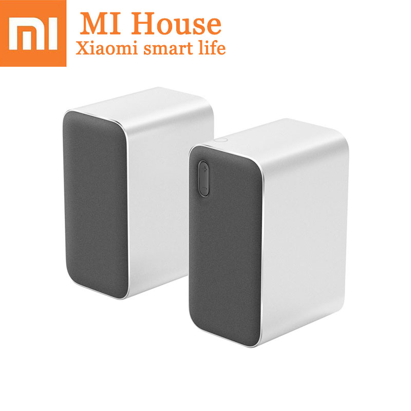 Оригинальный Xiaomi Bluetooth компьютер Динамик 12 Вт 2,4 ГГц двойной бас бассейна стерео Портативный Aux DSP С микрофоном светодио дный индикатор
