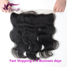 High Quality Lace Frontal Closure, Malaysian Virgin Hair 13×4 Ear To Ear   Bleached Knots Lace Frontal Closure