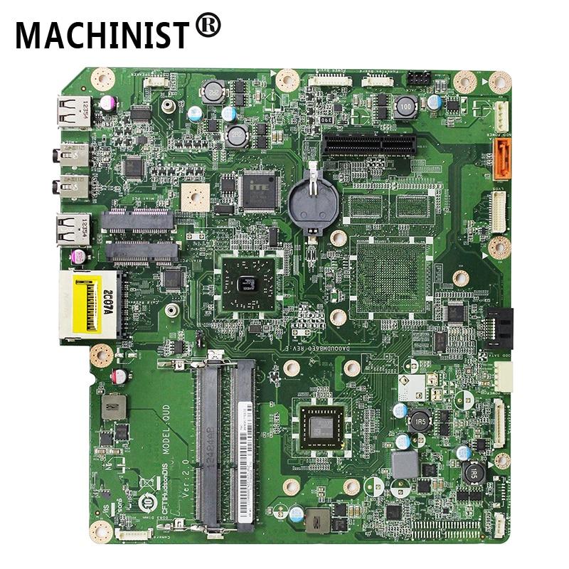 "Original For Lenovo AIO C325 C225 20"" desktop motherboard AMD E350 CPU DDR3 DA0QUDMB6E0 90000074 Free shipping  fully Tested"