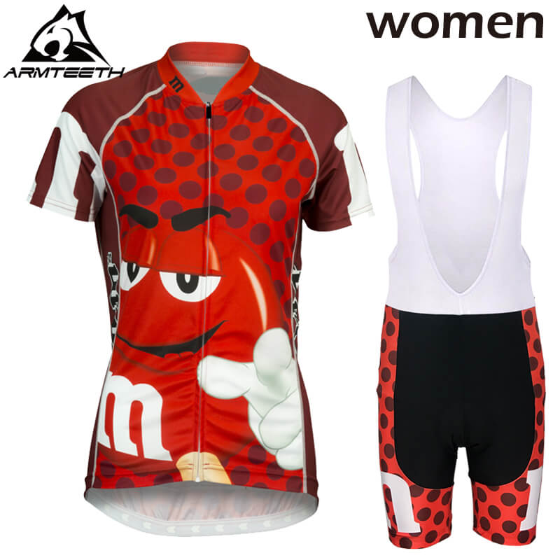 Hot Women Short Sleeve Cycling Jerseys Sets Breathable MTB Bike Clothing Men Bicycle Clothes Ropa Ciclismo 100% Polyester