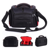 high quality Camera Bag for Canon EOS 750D 700D 600D 1100D 760D 80D 70D 1200D 1300D 450d 550D 60D 7D 5DII DSLR camera pouch case