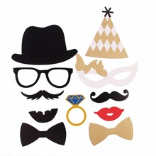 """Mr/ Mrs Sparkling"" Photo Booth Props for Wedding Party"