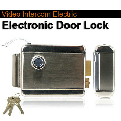 Home Stainless Steel Electronic Door Lock For Video Door phone Intercom Access Control System digital electric best rfid hotel electronic door lock for flat apartment