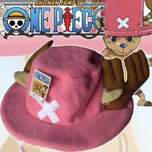 Anime One Piece Tony Chopper Plush Hat Pink Cosplay Cute Hat For Men And Women China OEM Supplier Retail And Wholesale