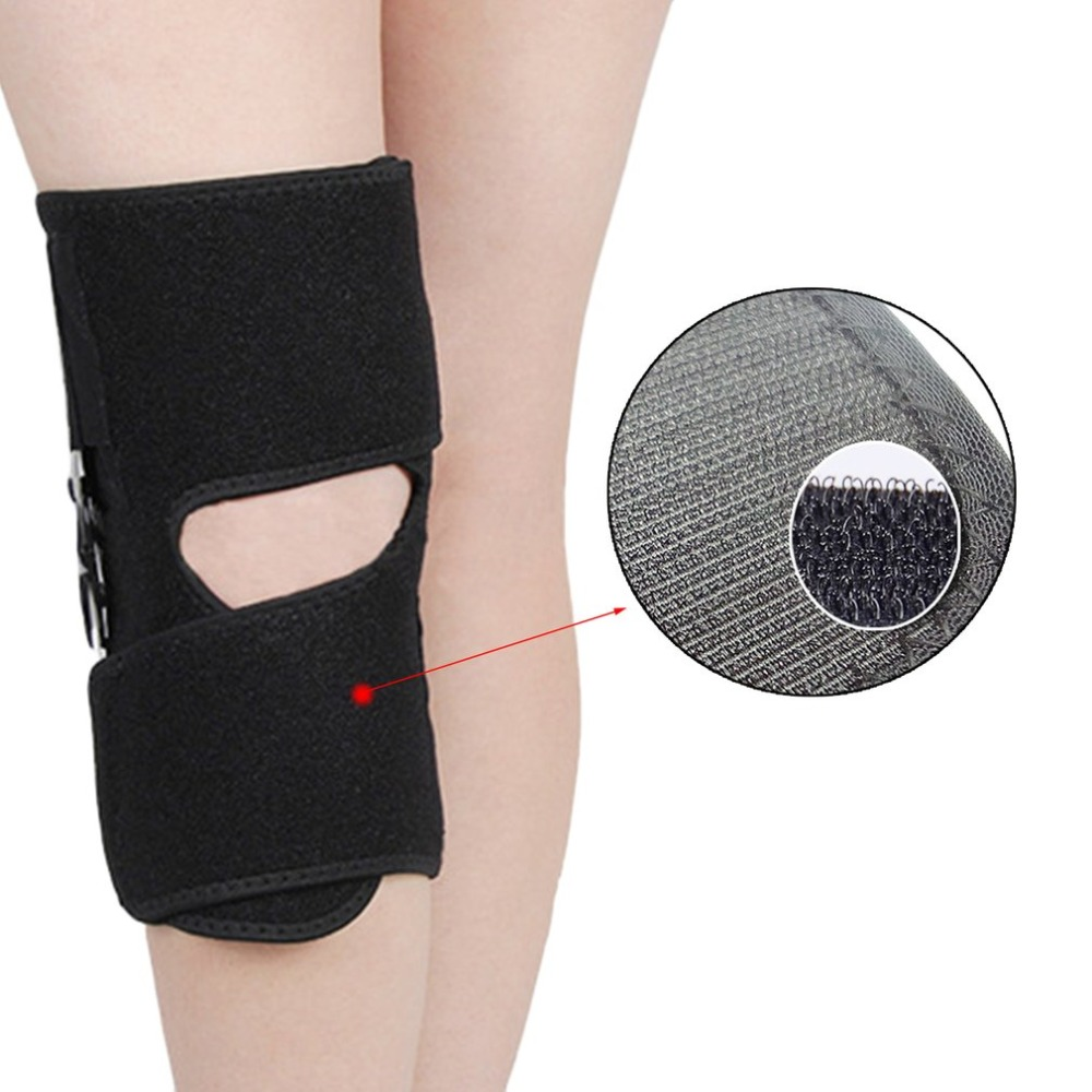 Adjustable Medical Hinged Knee Orthosis Brace Support Ligament <font><b>Sport</b></font> <font><b>Injury</b></font> Orthopedic Splint <font><b>Sports</b></font> Knee Pads image