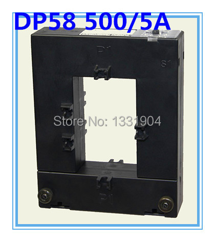 цена на small low voltage current transformer split core current transformer CT DP58 500/5A class 0.5 open-type current transformers