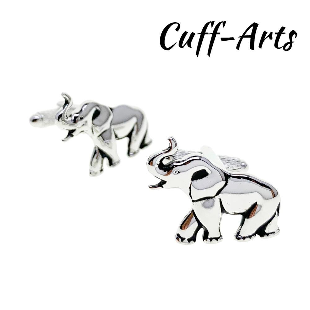 Cufflinks For Men Elephant Cufflinks Gifts For Men Bouton De Manche Gemelos Gemelli Spinki By Cuffarts C10421