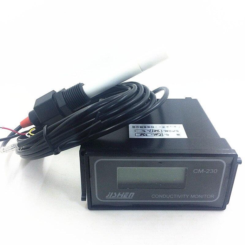 CM-230 Conductivity Monitor Conductivity meter,electric conductivity rate instrument,0-2000us/cm Error:2% Continuous measurement цена