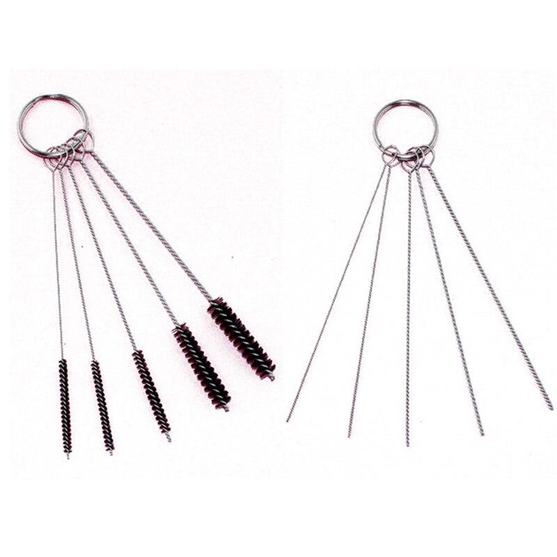 ABEST 2 Set Cleaning Brush Kit For Iwata Badger Paasche Master Airbrush Spray Gun