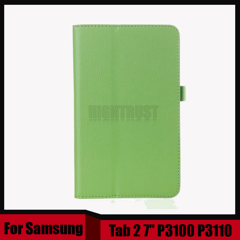 цена на 3 in 1 PU Leather Case Skin Cover Stand Folio case For Samsung galaxy tab 2 7