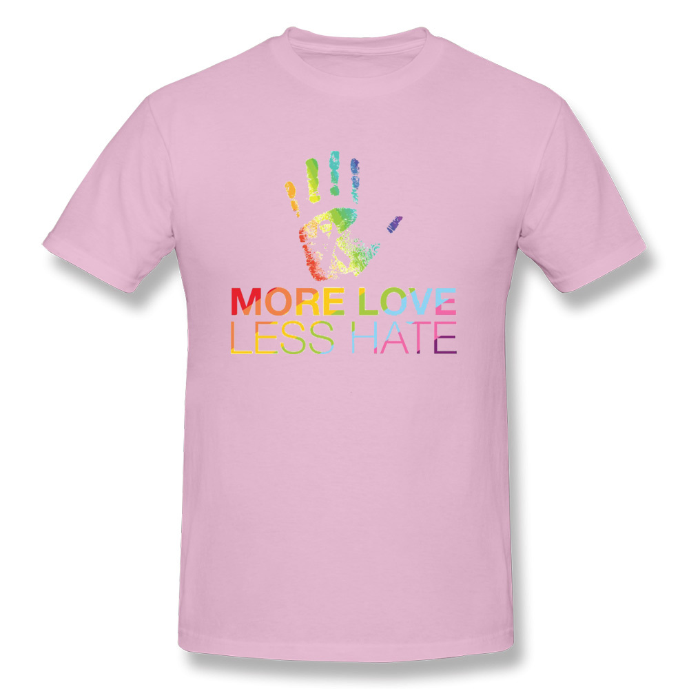 Youth Plain Long Sleeve Crew Neck Cotton LGBT Gay Pride Love Tee Top for Youth