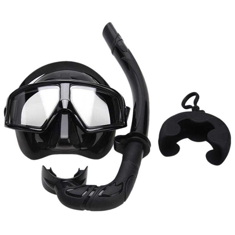 Nouveau masque de plongée tuba adulte lunettes Tube de respiration ensemble de lunettes de plongée trois trésors