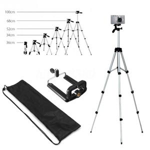 Image 2 - Aluminum Professional Telescopic Camera Tripod Stand Holder For Digital Camera Camcorder Tripod for iphone  Smart Phone